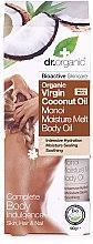 Düfte, Parfümerie und Kosmetik Natürliches Kokosnussöl - Dr.Organic Virgin Coconut Oil Moisture Melt Body Oil
