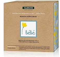 Düfte, Parfümerie und Kosmetik Gesichtspflegeset - Klorane Bebe (Waschgel 200ml + Gesichtscreme 40ml)