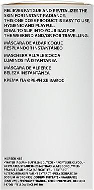 Gesichtsmaske mit Aprikosenextrakt - Academie Instant Radiance Apriot Mask — Bild N3