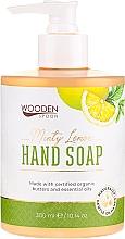 Düfte, Parfümerie und Kosmetik Flüssige Handseife mit Minze und Zitrone - Wooden Spoon Minty Lemon Hand Soap