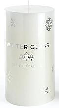 Düfte, Parfümerie und Kosmetik Duftkerze weiß 9x8 cm - Artman Winter Glass