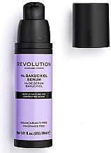 Düfte, Parfümerie und Kosmetik Antioxidatives Gesichtsserum mit Bakuchiol für glatte Haut - Makeup Revolution Skincare 1% Bakuchiol Serum