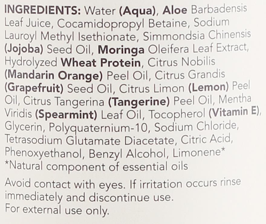 Shampoo für fettiges Haar mit Jojobaöl und Moringaextrakt - Sukin Oil Balancing Shampoo — Bild N2