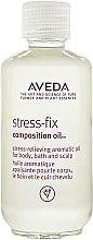 Düfte, Parfümerie und Kosmetik Pflegeöl für Bad, Körper und Kopfhaut mit ätherischen Ölen - Aveda Stress Fix Composition Oil
