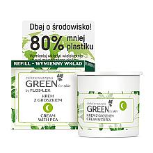 Düfte, Parfümerie und Kosmetik Nährende Gesichts-, Hals- und Dekolletécreme für die Nacht - Floslek Green For Skin Nourishing Night Cream Refill