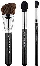 Düfte, Parfümerie und Kosmetik Make-up Pinselset T305 3 St. - Jessup