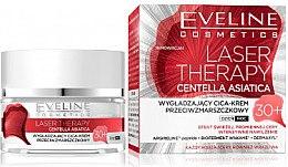 Düfte, Parfümerie und Kosmetik Glättende Anti-Falten Cica-Creme 30+ - Eveline Cosmetics Laser Therapy Centella Asiatica 30+
