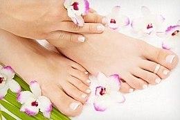 Pflegendes Fußpeeling mit Bio Lotus-und Zucker-Extrakt - Organic Shop Foot Scrub Organic Lotus & Sugar — Bild N2