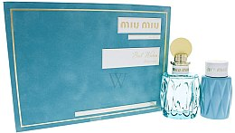 Düfte, Parfümerie und Kosmetik Miu Miu L'Eau Bleue - Duftset (Eau de Parfum 10ml + Körperlotion 100ml)