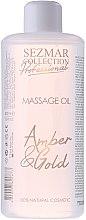 Düfte, Parfümerie und Kosmetik Massageöl Bernstein und Gold - Hristina Cosmetics Sezmar Professional Massage Oil Amber & Gold