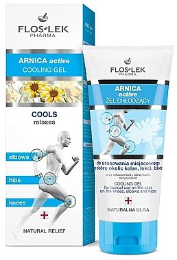Kühlgel - Floslek Arnica Active Cooling Gel — Bild N1