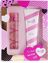 Düfte, Parfümerie und Kosmetik Aquolina Pink Sugar - Duftset (Eau de Toilette 100ml + Körperlotion 250ml)