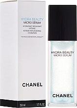 Düfte, Parfümerie und Kosmetik Feuchtigkeitsspendendes Gesichtsserum - Chanel Hydra Beauty Micro Serum