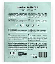 Gesichtspflegeset - Pibu Beauty Hydrating-Soothing Mask Set (Gesichtsmasken 5x29ml) — Bild N3
