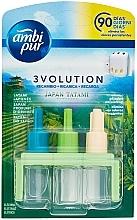 Düfte, Parfümerie und Kosmetik Lufterfrischer-Set Japanische Tatami - Ambi Pur (Refill 3x7ml)