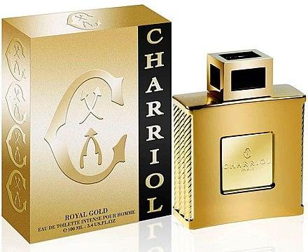 Charriol Royal Gold Intense Pour Homme - Eau de Toilette — Bild N1