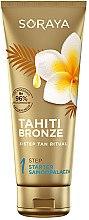 Düfte, Parfümerie und Kosmetik Selbstbräuner mit Monoi- und Kokosnussölen - Soraya Tahiti Bronze 1 Step Starter