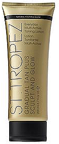 Körperlotion - St. Tropez Gradual Tan Plus Sculpt and Glow Everyday Multi-Active Toning Lotion — Bild N1