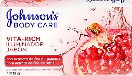 Düfte, Parfümerie und Kosmetik Seife mit Granatapfel-Duft - Johnson's® Body Care Vita-Rich