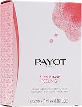 Düfte, Parfümerie und Kosmetik Sauerstoffspendende und reinigende Peelingmaske für das Gesicht - Payot Les Demaquillantes Peeling Oxygenant Depolluant Bubble Mask