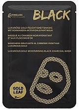 Düfte, Parfümerie und Kosmetik Luxuriöse Gold-Feuchtigkeitsmaske mit schwarzen Aktivkohlepartikeln - Timeless Truth Mask Black Luxurious Gold Moisturising Black Charcoal Mask