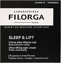 Düfte, Parfümerie und Kosmetik Straffende Nachtcreme mit Liftingeffekt - Filorga Sleep & Lift Ultra-lifting Night Cream