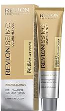 Düfte, Parfümerie und Kosmetik Creme-Gel Haarfarbe für intensiv blonde Nuancen - Revlon Professional Revlonissimo Colorsmetique Intense Blonde