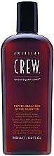 Düfte, Parfümerie und Kosmetik Tägliches Shampoo zur Entfernung von Rückständen für alle Haartypen - American Crew Power Cleanser Style Remover