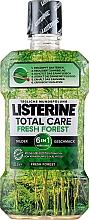 Düfte, Parfümerie und Kosmetik Erfrischende Mundspülung - Listerine Total Care Fresh Forest Elixir Bocal