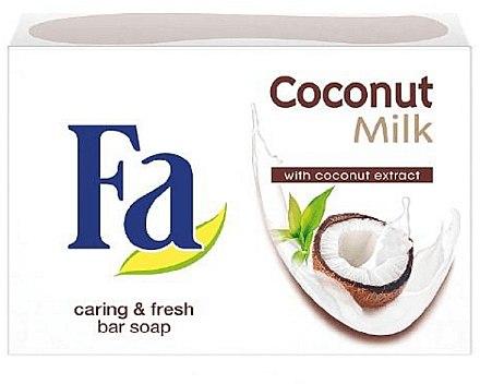 Cremeseife mit Kokosnussextrakt - Fa Coconut Milk — Bild N1