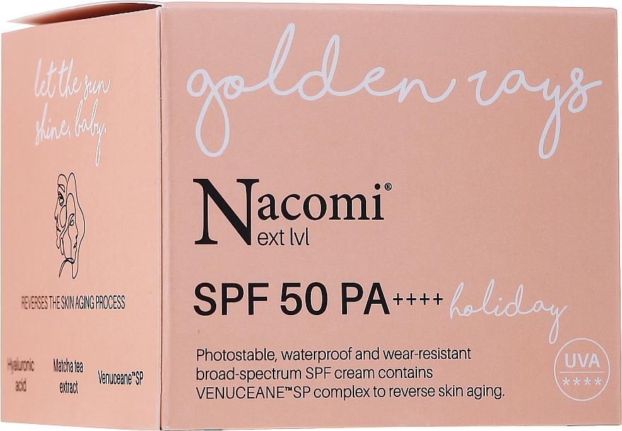 Sonnenschutzcreme für das Gesicht SPF 50 - Nacomi Next Level Holiday SPF 50 PA++++ — Bild N1