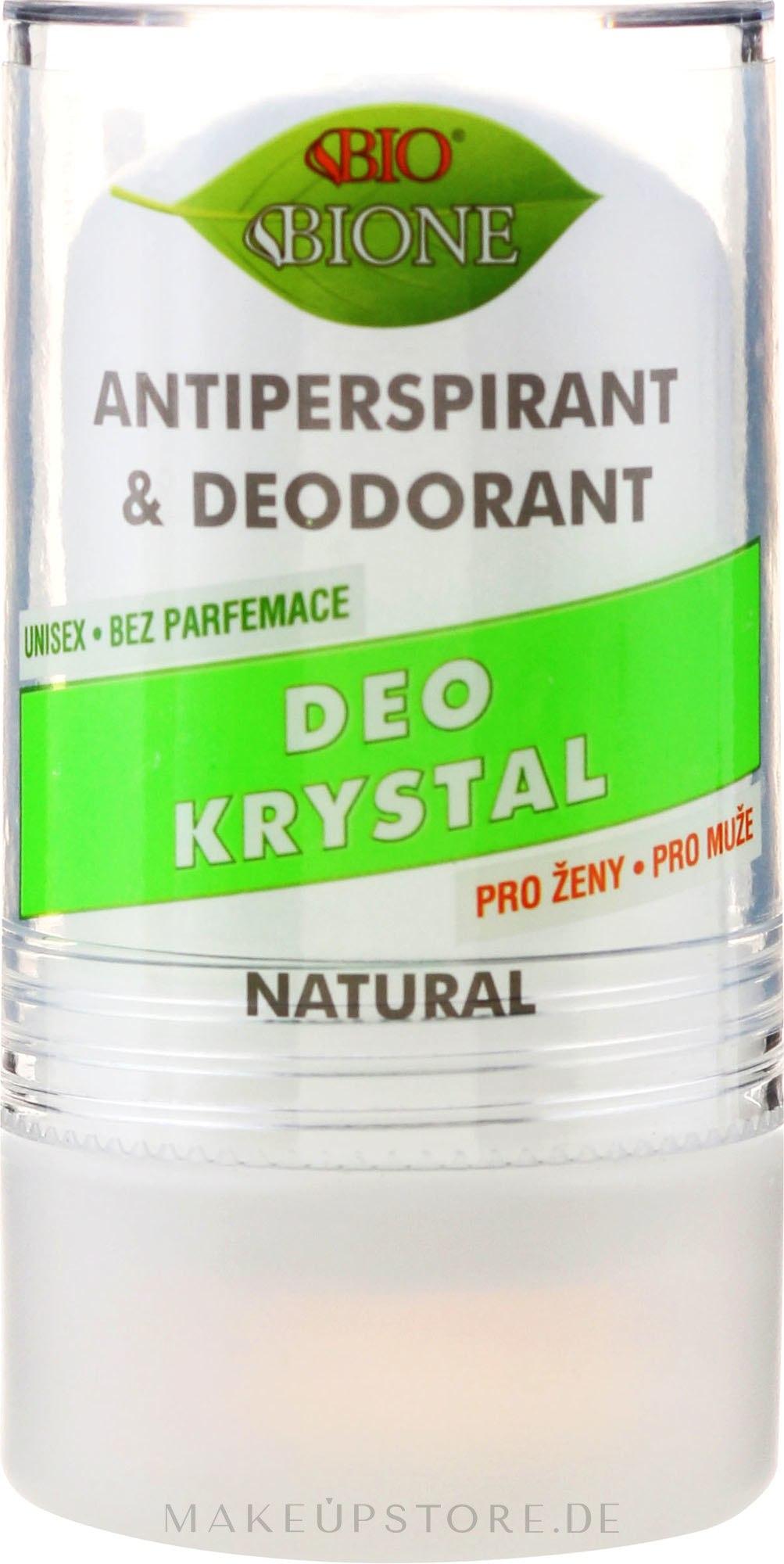 Deo Roll-on Kristall-Antitranspirant - Bione Cosmetics Deo Krystal Antiperspirant&Deodorant — Bild 120 g