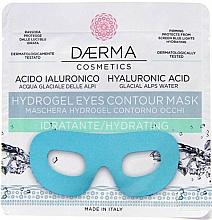 Düfte, Parfümerie und Kosmetik Feuchtigkeitsspendende Hydrogel-Maske für die Augenpartie mit Hyaluronsäure - Daerma Cosmetics Hydrogel Eyes Contour Mask