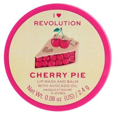Balsam-Maske für die Lippen mit Avocadoöl - I Heart Revolution Cherry Pie Lip Mask & Balm — Bild N1