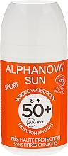 Düfte, Parfümerie und Kosmetik Sonnenschutzroller für Gesicht und Körper SPF 50+ - Alphanova Sun Roll On Sport SPF 50+