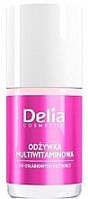 Düfte, Parfümerie und Kosmetik Nagelbalsam mit Vitaminen - Delia Cosmetics Active Multivitamin Nail Conditioner