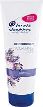 Düfte, Parfümerie und Kosmetik Pflegender Conditioner für Haar und Kopfhaut mit Lavendel-Essenz - Head & Shoulders Conditioner Nourishing Care