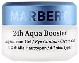 Düfte, Parfümerie und Kosmetik Augencreme-Gel für alle Hauttypen - Marbert Moisture Care 24h Aqua Booster