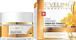 Düfte, Parfümerie und Kosmetik Regenerierende und glättende Gesichtscreme mit Honig und Provitanin B5 - Eveline Cosmetics Facemed+ Face Cream