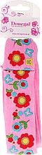 Düfte, Parfümerie und Kosmetik Haarband 5495 rosa mit Blumen - Donegal