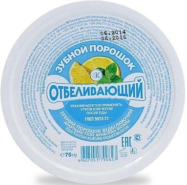 Aufhellendes Zahnpulver, blanchieren - Fito Kosmetik