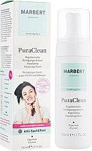 Düfte, Parfümerie und Kosmetik Regulierender Reinigungsschaum gegen Pickel und Mitesser - Marbert Pura Clean Regulating Cleansing Foam