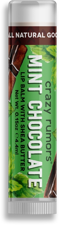 Lippenbalsam - Crazy Rumors Mint Chocolate Lip Balm — Bild N1