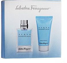 Salvatore Ferragamo Acqua Essenziale - Duftset (Eau de Toilette 30ml + Shampoo & Duschgel 50ml) — Bild N2