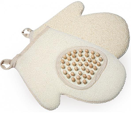 Badehandschuh für Massage 9537 - Donegal Glove with Massager — Bild N1