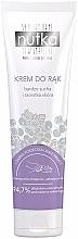 Düfte, Parfümerie und Kosmetik Handcreme mit schwarzer Johannisbeere und weißen Blüten für sehr trockene und raue Haut - Nutka Hand Cream
