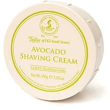 Düfte, Parfümerie und Kosmetik Rasiercreme mit Avocado-Duft - Taylor of Old Bond Street Avocado Shaving Cream Bowl