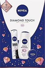 Düfte, Parfümerie und Kosmetik Körperpflegeset - Nivea Diamond Touch 2019 (Duschgel 250ml + Gesichtscreme 30ml + Deospray 150ml)