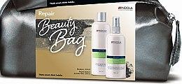 Düfte, Parfümerie und Kosmetik Haarpflegeset - Indola Innova Repair (Shampoo 300ml + Haarspray 250ml + Kosmetiktasche)
