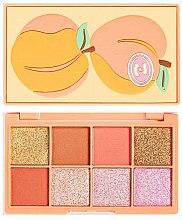 Düfte, Parfümerie und Kosmetik Lidschattenpalette - I Heart Revolution Mini Tasty Peach Eyeshadow Palette